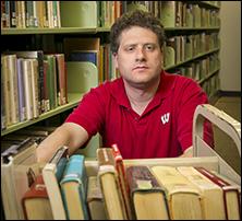 Matt Ward works at the Madison Public Library
