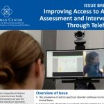 Improving Access to Autism Assessment and Intervention Through Telehealth image