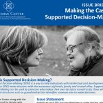 Making the Case for Supported Decision Making