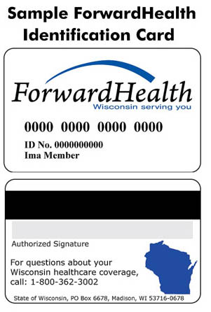 Sample of the Forward Health Card image