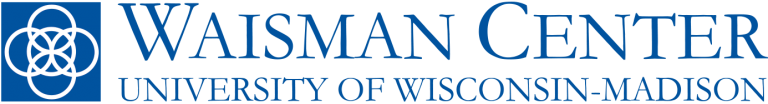 Waisman Center with University Center for Excellence in Developmenta Disabilities logo image