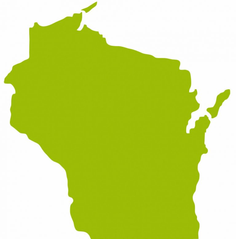 Image of Wisconsin color green