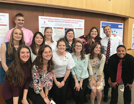 Masters Degree Genetic Counseling Students